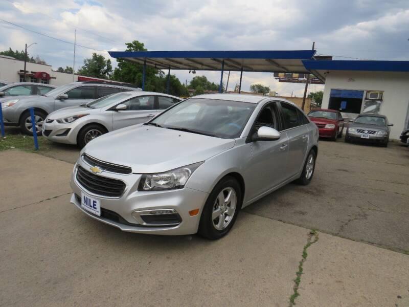 2015 Chevrolet Cruze for sale at Nile Auto Sales in Denver CO
