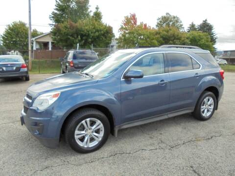 2012 Chevrolet Equinox for sale at B & G AUTO SALES in Uniontown PA