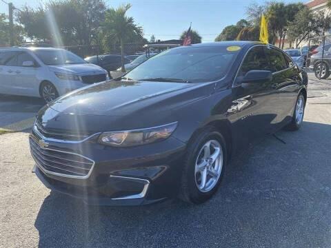 2016 Chevrolet Malibu for sale at EZ Own Car Sales of Miami in Miami FL