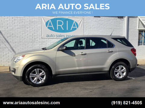 2011 Chevrolet Equinox for sale at ARIA  AUTO  SALES in Raleigh NC
