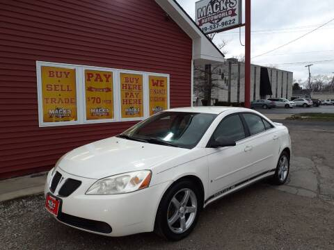 2007 Pontiac G6 for sale at Mack's Autoworld in Toledo OH