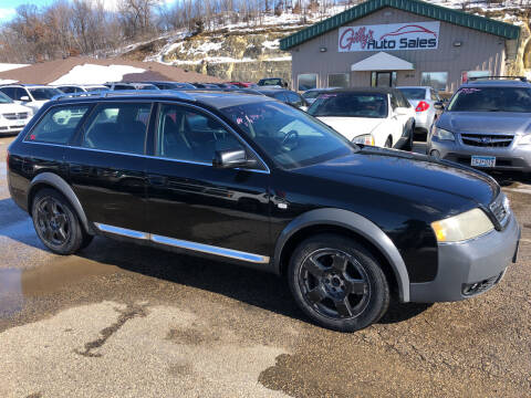 2001 Audi Allroad for sale at Gilly's Auto Sales in Rochester MN