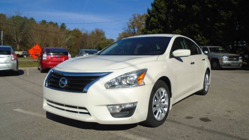 2015 Nissan Altima for sale at SAR Enterprises in Raleigh NC