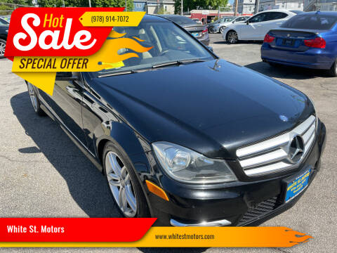2013 Mercedes-Benz C-Class for sale at White St. Motors in Haverhill MA