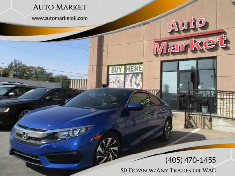 2016 Honda Civic for sale at Auto Market in Oklahoma City OK
