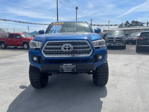 2017 Toyota Tacoma for sale at Velascos Used Car Sales in Hermiston OR