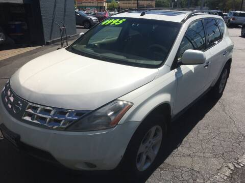 2004 Nissan Murano for sale at ROUTE 6 AUTOMAX in Markham IL