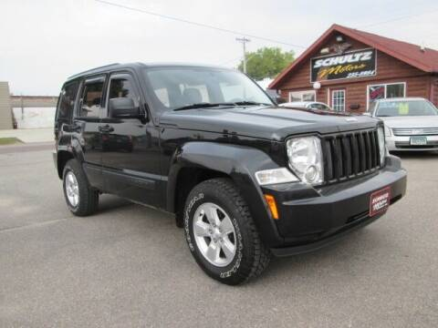 2011 Jeep Liberty for sale at SCHULTZ MOTORS in Fairmont MN
