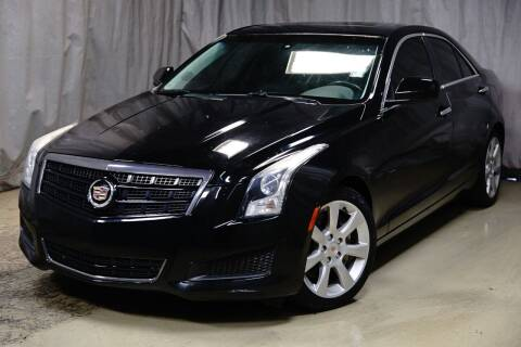 2014 Cadillac ATS for sale at Fincher's Texas Best Auto & Truck Sales in Houston TX