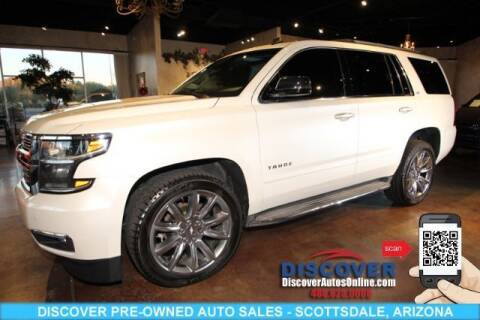 2015 Chevrolet Tahoe for sale at Discover Pre-Owned Auto Sales in Scottsdale AZ