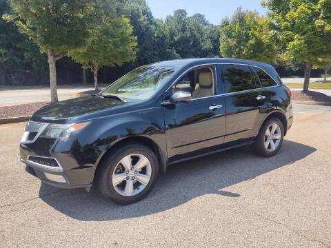 2011 Acura MDX for sale at WIGGLES AUTO SALES INC in Mableton GA