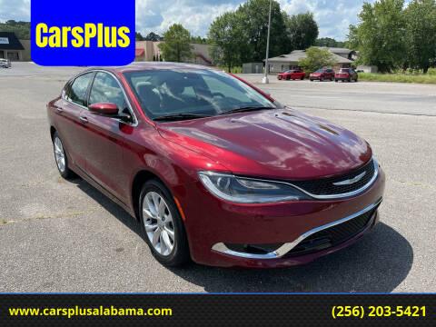 2015 Chrysler 200 for sale at CarsPlus in Scottsboro AL