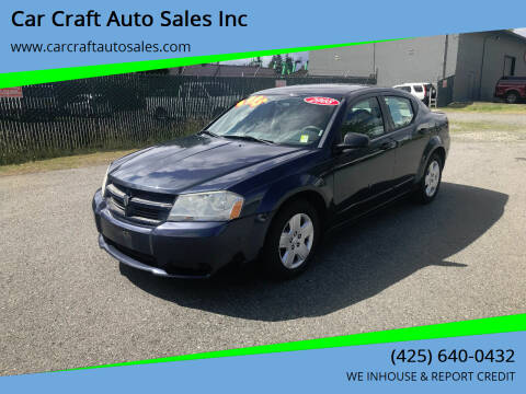 2008 Dodge Avenger for sale at Car Craft Auto Sales Inc in Lynnwood WA