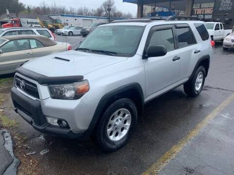 2013 Toyota 4Runner for sale at TRANS P in East Windsor CT