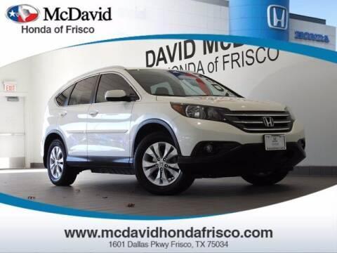 2014 Honda CR-V for sale at DAVID McDAVID HONDA OF IRVING in Irving TX