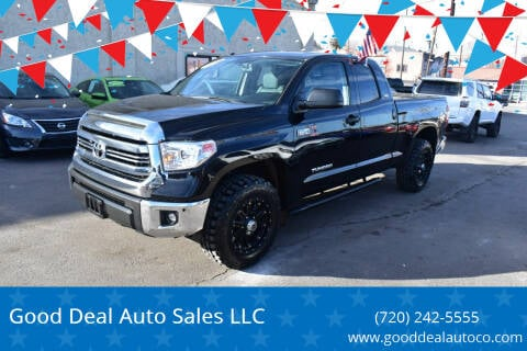 2014 Toyota Tundra for sale at Good Deal Auto Sales LLC in Denver CO