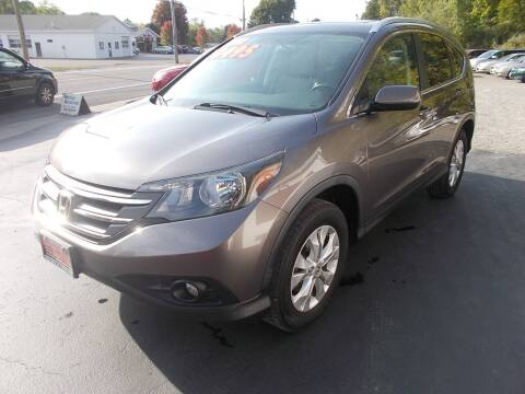 2012 Honda CR-V for sale at Dansville Radiator in Dansville NY