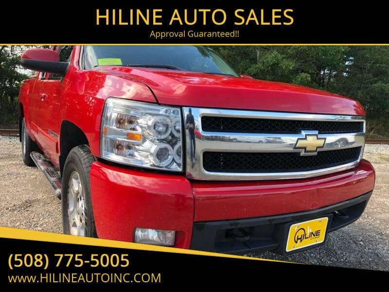 2008 Chevrolet Silverado 1500 for sale at HILINE AUTO SALES in Hyannis MA