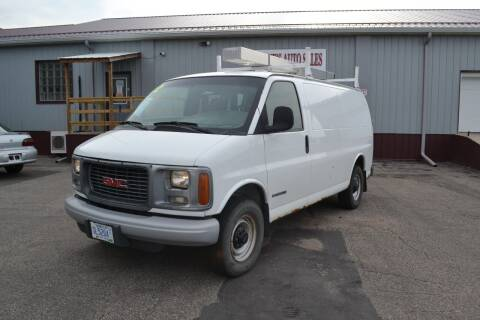 2002 GMC Savana Cargo for sale at Dave's Auto Sales in Winthrop MN