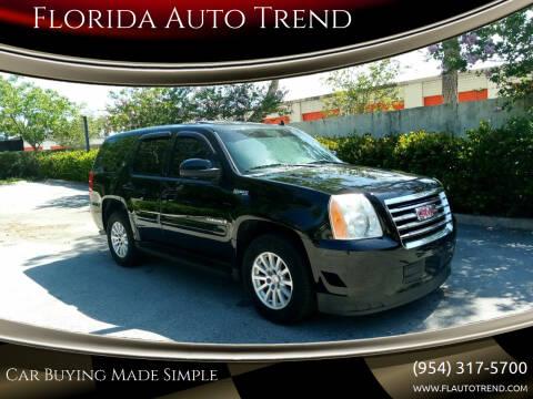 2009 GMC Yukon for sale at Florida Auto Trend in Plantation FL