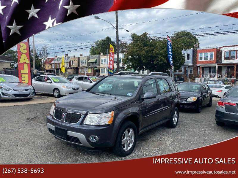2008 Pontiac Torrent for sale at Impressive Auto Sales in Philadelphia PA