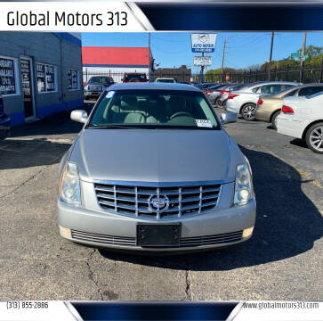 2008 Cadillac DTS for sale at Global Motors 313 in Detroit MI