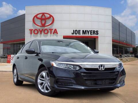 2019 Honda Accord for sale at Joe Myers Toyota PreOwned in Houston TX