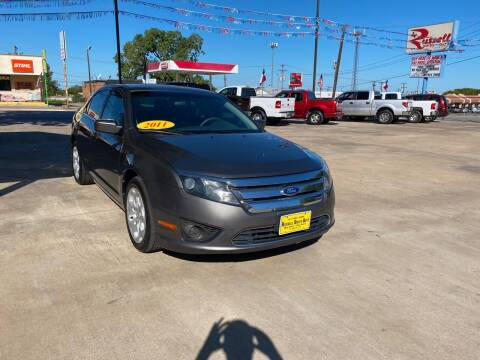 2011 Ford Fusion for sale at Russell Smith Auto in Fort Worth TX