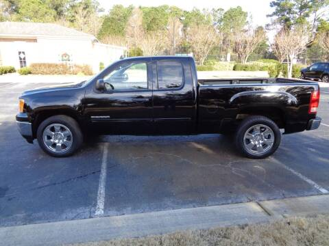 2011 GMC Sierra 1500 for sale at BALKCUM AUTO INC in Wilmington NC