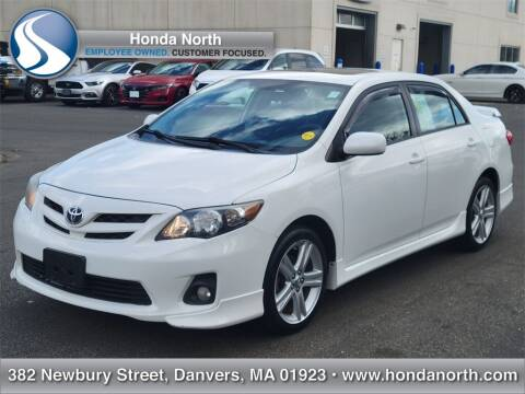 2013 Toyota Corolla for sale at 1 North Preowned in Danvers MA