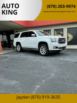 2016 GMC Yukon for sale at AUTO KING in Jonesboro AR