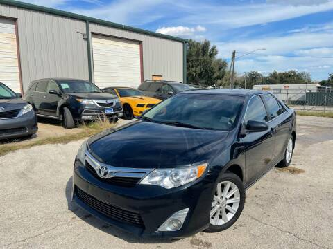 2012 Toyota Camry for sale at Hatimi Auto LLC in Austin TX