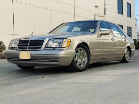 1999 Mercedes-Benz S-Class for sale at New City Auto - Retail Inventory in South El Monte CA