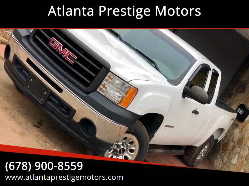 2011 GMC Sierra 1500 for sale at Atlanta Prestige Motors in Decatur GA