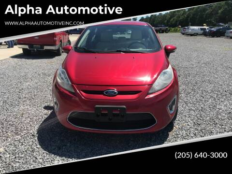 2011 Ford Fiesta for sale at Alpha Automotive in Odenville AL