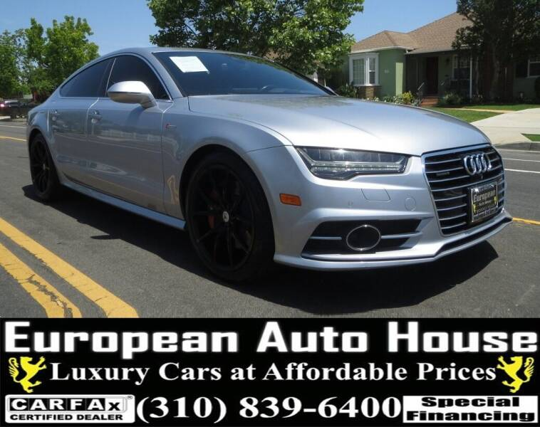 2016 Audi A7 for sale at European Auto House in Los Angeles CA