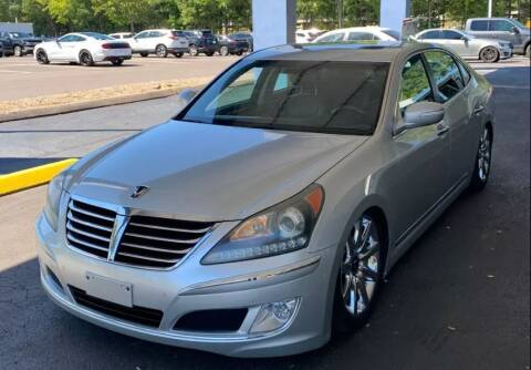 2013 Hyundai Equus for sale at Family First Auto in Spartanburg SC