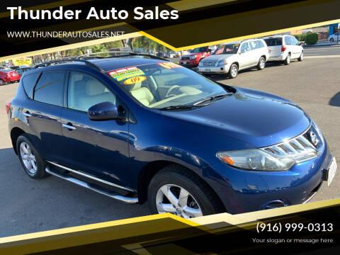 2009 Nissan Murano for sale at Thunder Auto Sales in Sacramento CA