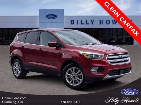 2019 Ford Escape for sale at BILLY HOWELL FORD LINCOLN in Cumming GA