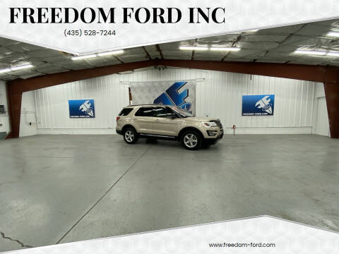 2017 Ford Explorer for sale at Freedom Ford Inc in Gunnison UT
