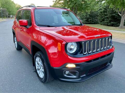 2017 Jeep Renegade for sale at You Win Auto in Burnsville MN