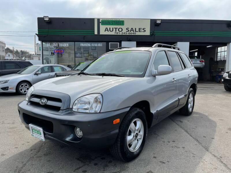 2006 Hyundai Santa Fe for sale at Wakefield Auto Sales of Main Street Inc. in Wakefield MA