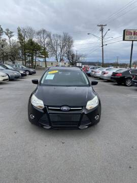 2012 Ford Focus for sale at Elite Motors in Knoxville TN
