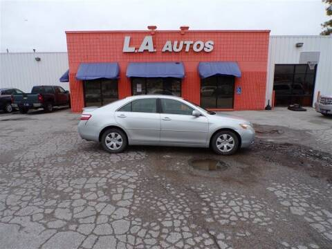 2007 Toyota Camry for sale at L A AUTOS in Omaha NE