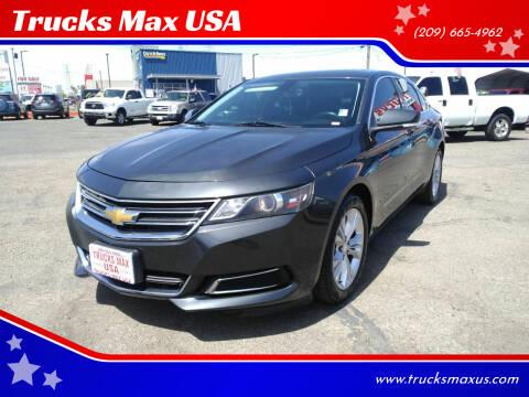 2014 Chevrolet Impala for sale at Trucks Max USA in Manteca CA