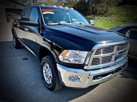2012 RAM Ram Pickup 2500 for sale at Carder Motors Inc in Bridgeport WV
