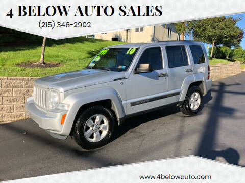 2010 Jeep Liberty for sale at 4 Below Auto Sales in Willow Grove PA