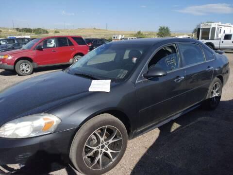 2013 Chevrolet Impala for sale at PYRAMID MOTORS - Pueblo Lot in Pueblo CO