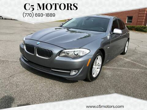2012 BMW 5 Series for sale at C5 Motors in Marietta GA