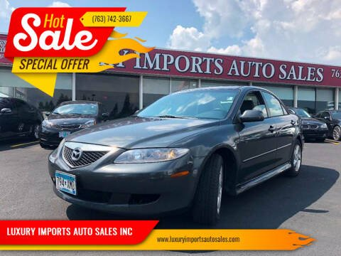 2003 Mazda MAZDA6 for sale at LUXURY IMPORTS AUTO SALES INC in North Branch MN